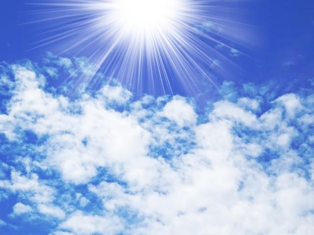 太陽 希望 光