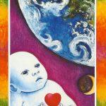 大アルカナXXⅠ Earth Child 地球の子ども