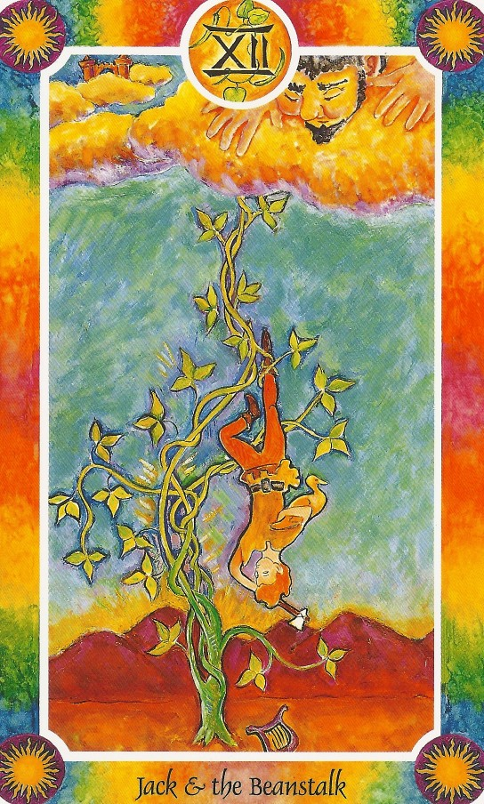 インナーチャイルドカード大アルカナⅩⅡジャックと豆の木