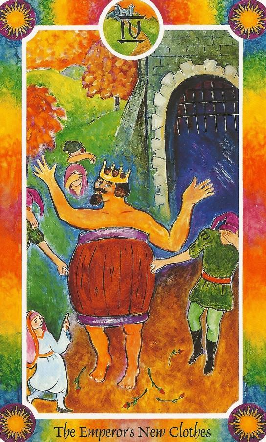 インナーチャイルドカード大アルカナⅣ裸の王様