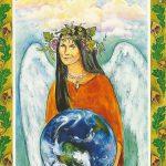 【クリスタルの守護者 Guardian of Crystals 地球の女神ガイア】インナーチャイルドカード