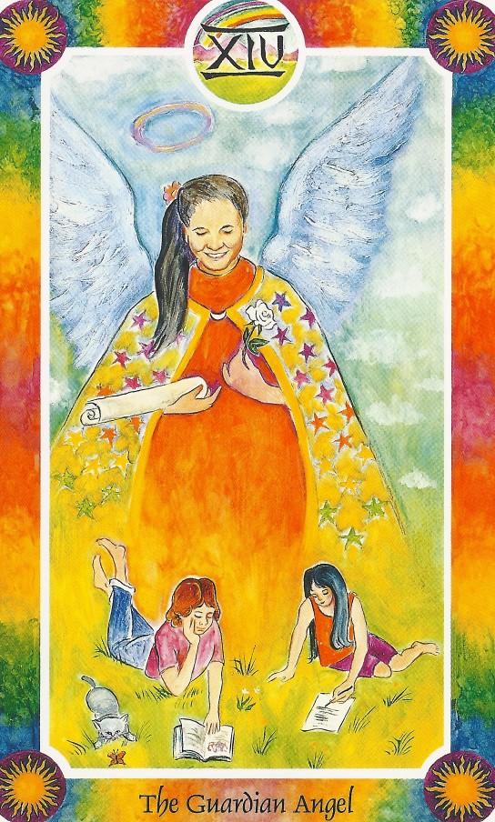 インナーチャイルドカード大アルカナⅩⅣ守護天使